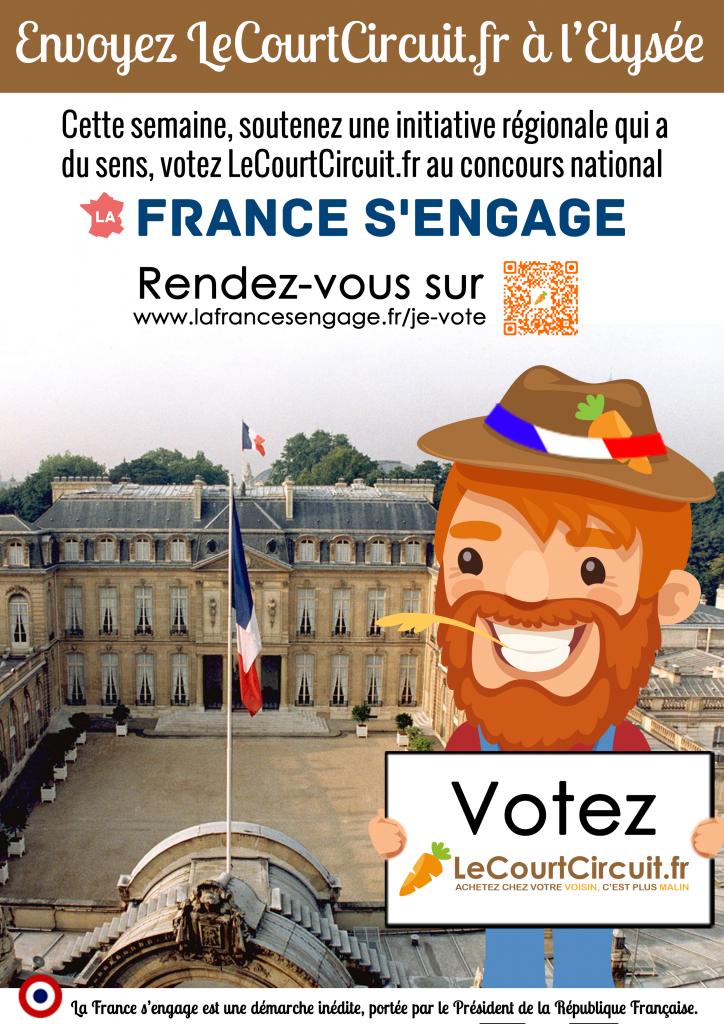 Votez LeCourtCircuit.fr au concours La France S'engage