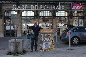 La gare de Roubaix accueille des produits locaux !
